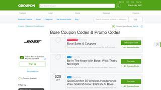 Bose Coupons, Promo Codes & Deals 2019 - Groupon