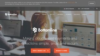 Bottomline PTX - Bacs-approved Cloud-based Payments Processing