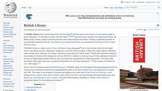 British Library - Wikipedia
