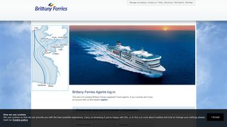 Brittany Ferries Agents log-in - Brittany Ferries