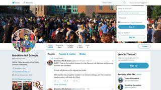 Brookline MA Schools (@BrooklinePublic) | Twitter