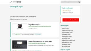 Dealerport Login - LoginsWeb