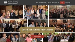 Bryant University Alumni Association - Login - iModules