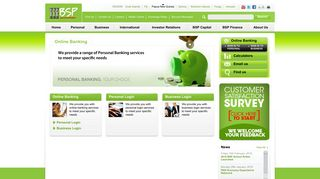 Online Banking - Bank South Pacific - PNG
