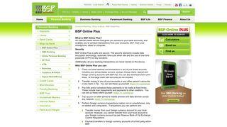 BSP Fiji Digital Banking - Bank South Pacific - FIJI