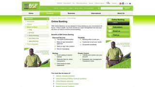 Online Banking - BSP Tonga