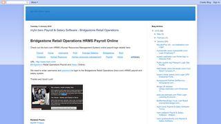 myhr.bsro Payroll & Salary Software - Bridgestone Retail Operations ...