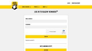 Log in - Blazin Rewards | Buffalo Wild Wings