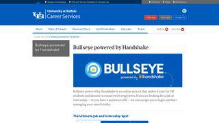 Bullseye powered by Handshake - Career Services - University at ...