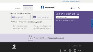 Log in to Your Business Account – Nationwide