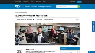 Student Records and Registration - BYU-Idaho