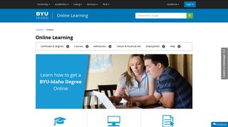 BYU-Idaho Online Learning