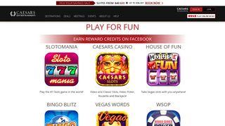 Play Online Games - Caesars Entertainment