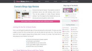 Caesars Bingo On Mobile: A New Review 2019 - Mobile Bingo Apps