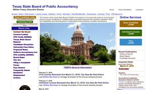 TSBPA - Welcome to Texas State Board of Public Accountancy