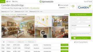 Camden Stockbridge Apartments - Stockbridge, GA   Apartments.com