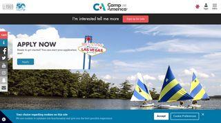 Applying - Camp America