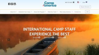 Camp America - the best international experience for your camp