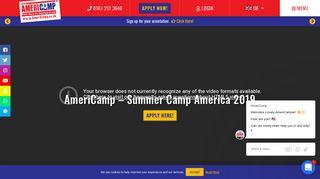 AmeriCamp | Summer Camp America 2019