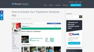 How to Activate Your TripAdvisor Facebook App | ReviewTrackers