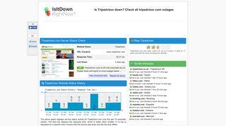 Tripadvisor.com - Is Tripadvisor Down Right Now?