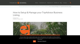 How to set up & manage your TripAdvisor business listing