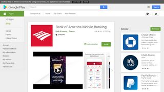 Bank of America Mobile Banking - Apps on Google Play