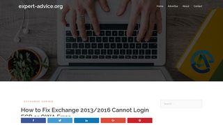 How to Fix Exchange 2013/2016 Cannot Login ECP or OWA Error ...