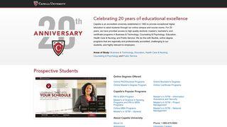 CapellaUniversity.org - Your Portal to Capella | Capella University