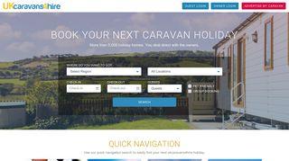 UK Static Caravan Holidays - Private Static Caravan Hire