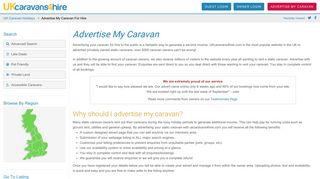 Advertise My Caravan for Hire | Rent my Caravan | UKcaravans4hire