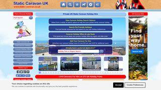 Static Caravan UK | Private Caravan Holiday Hire
