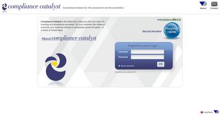 Compliance Catalyst - Login
