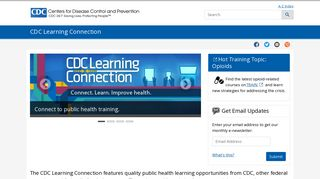 CDC Learning Connection | CDC