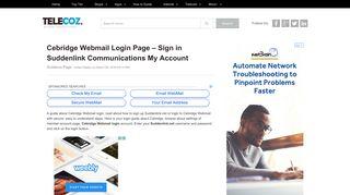 Cebridge Webmail Login – Sign in Suddenlink My Account - TeleCoz