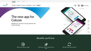 Celcom Life App | App | Celcom