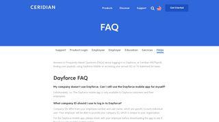 FAQ   Dayforce   Powerpay - Ceridian