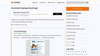 Vca Antech Employee Email Login