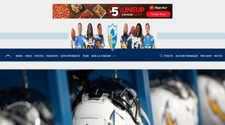 Los Angeles Chargers: Homepage