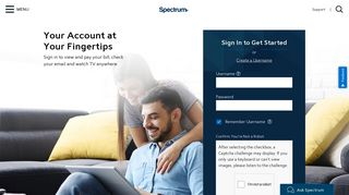 Spectrum.net Home Page
