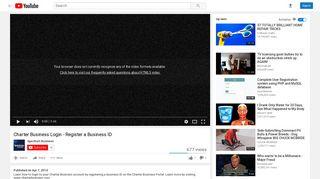 Charter Business Login - Register a Business ID - YouTube