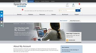 My Account Access | Account Management - Spectrum Business