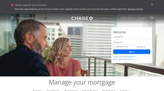 My Mortgage   Home Lending   Chase.com