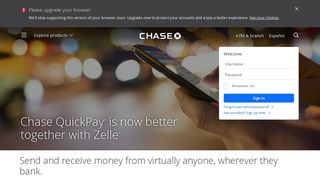 Chase QuickPay® with Zelle(SM) - Chase.com