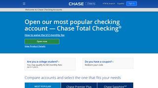 Chase Checking