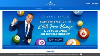 Online Bingo – Jackpotjoy   Play £10, Get £50 of Free Bingo