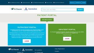 Patient Portal - St. Vincent