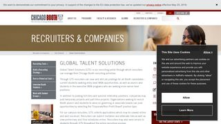 Global Talent Solutions   The University of Chicago Booth School of ...