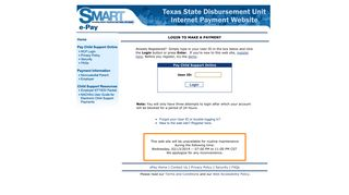 NCP Login - Texas Child Support Processing Center