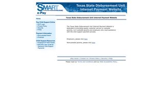 Texas Child Support Processing Center